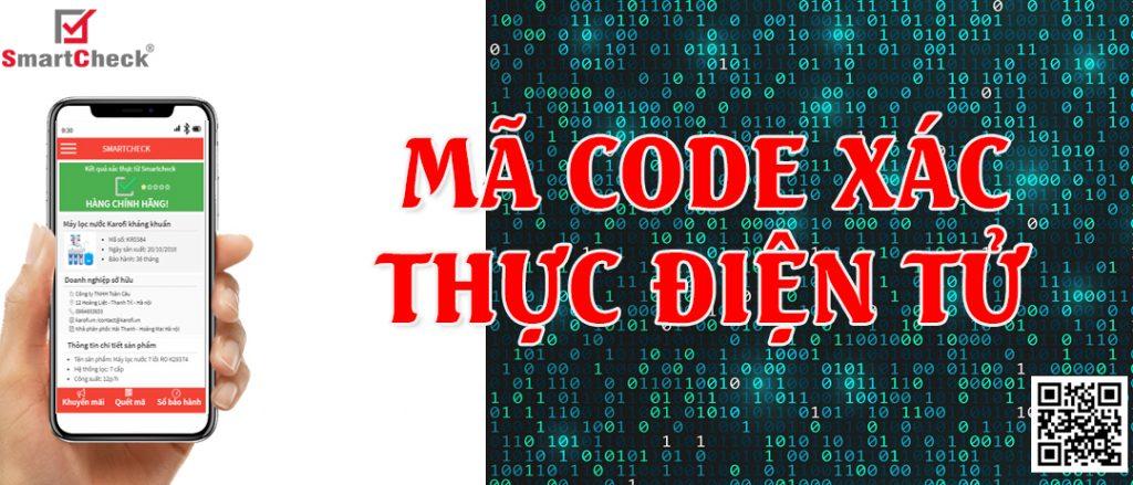 Mã code xác thực điện tử